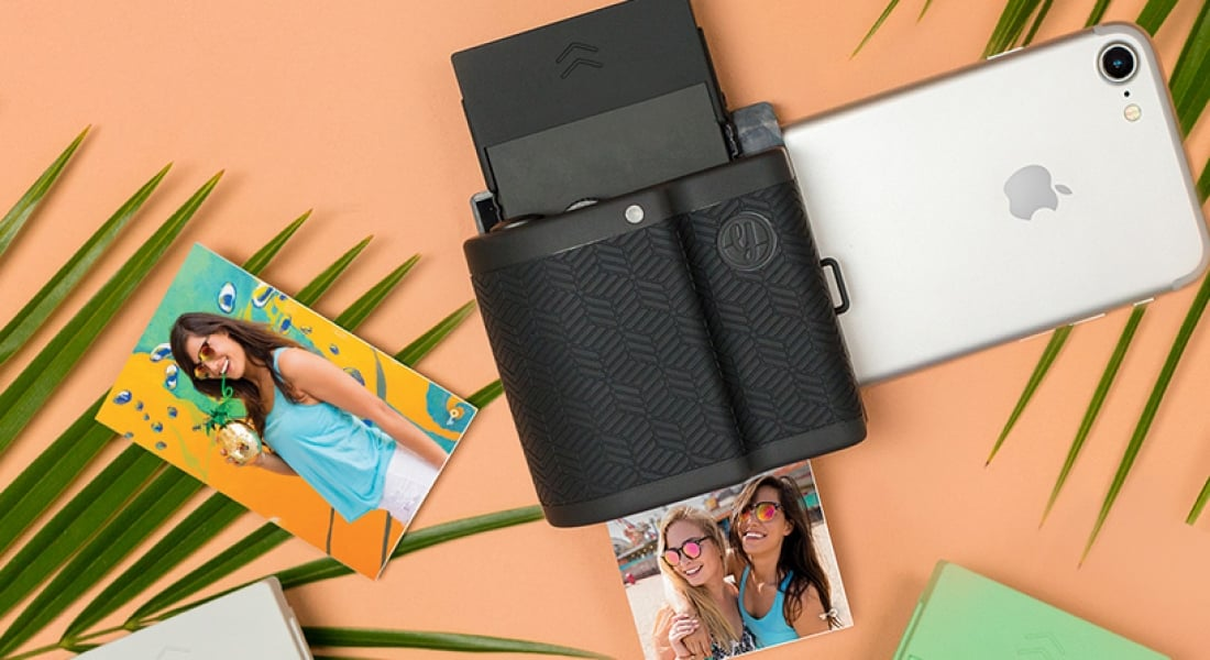 Akıllı Telefonu Mini Polaroid Makineye Dönüştüren Cep Yazıcısı