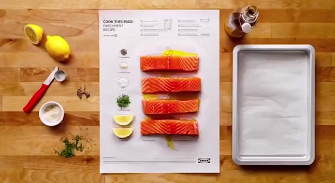 IKEA Stili Yemek Tariflerini Katla, Kıvır, At Fırına [Cannes Lions 2017]