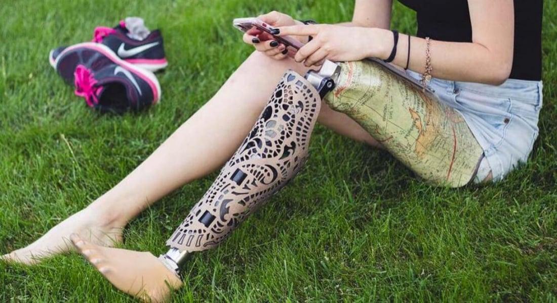 Moda Aksesuarı Gibi Tasarlanan Protezler