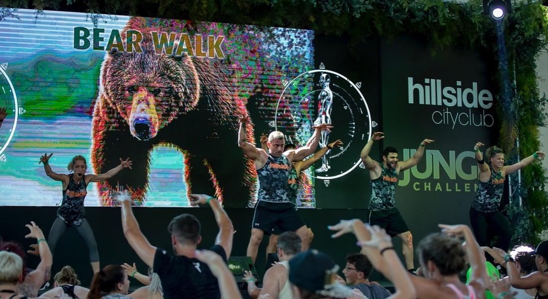 Hillside City Club'ın Doğal Yaşamdan İlham Alan Spor Akımı: Jungle Challenge