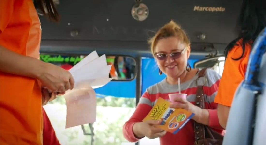 Otobüs Biletini Ödeyen Piyango
