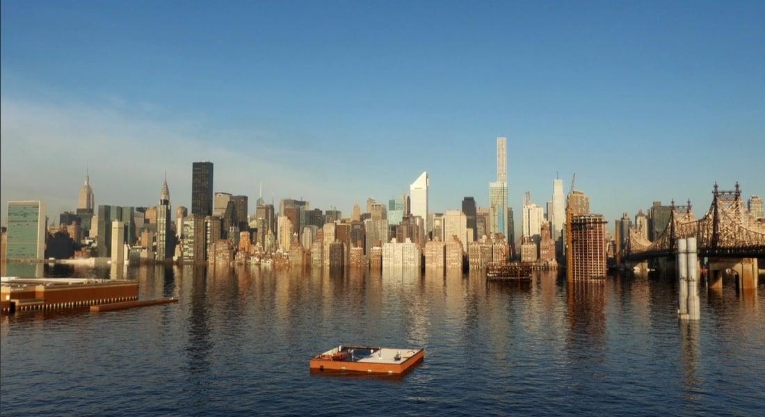 New York Sular Altında