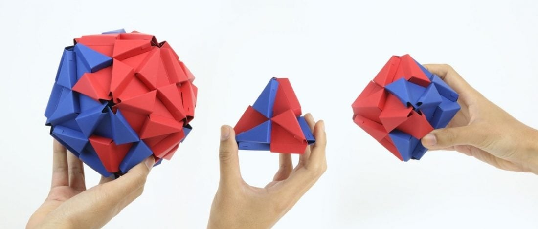 Origami LEGO