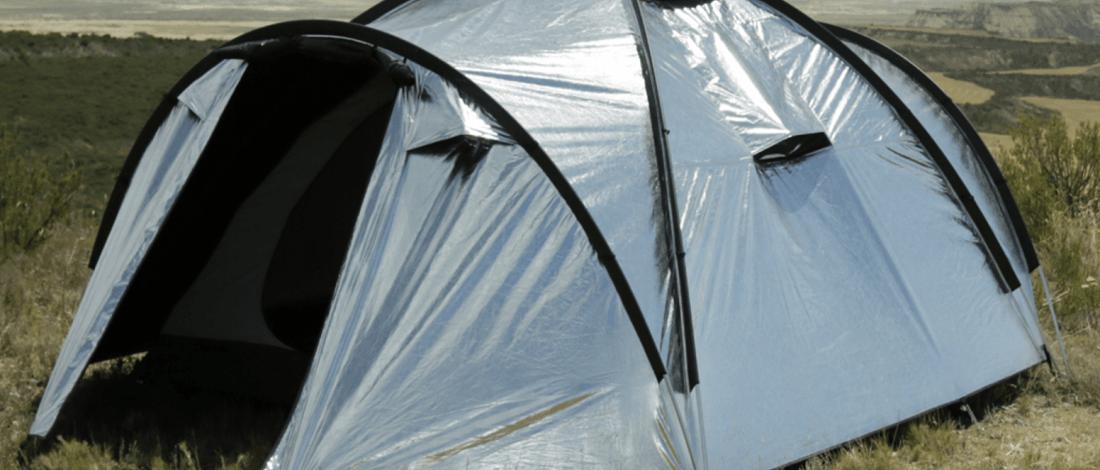 Sıcağı Geçirmeyen Fanlı Çadır