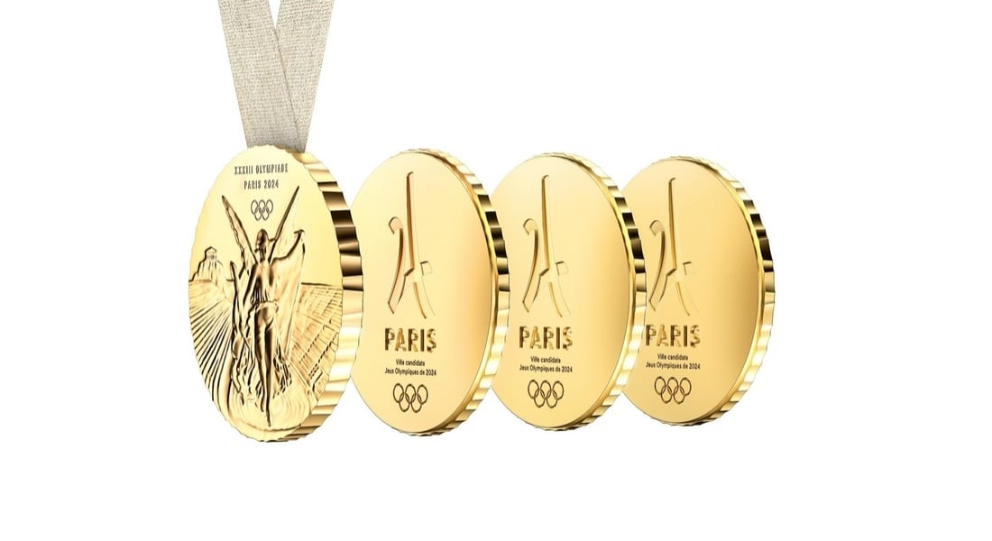 Philippe Starck'tan Atletlerin Sevdikleriyle Paylaşabileceği Dörtlü Olimpiyat Madalyaları