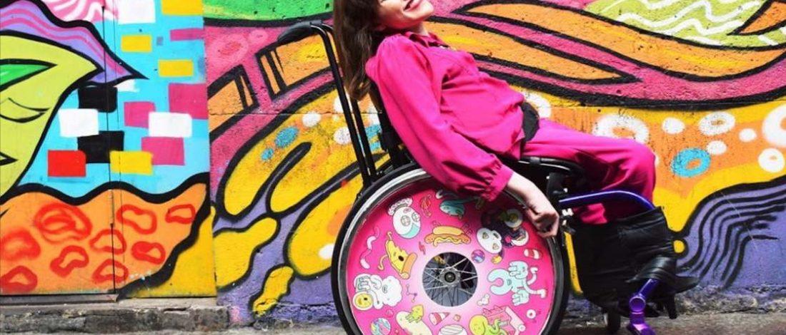Sanatçıların Tasarladığı Tekerlekli Sandalye Jantları