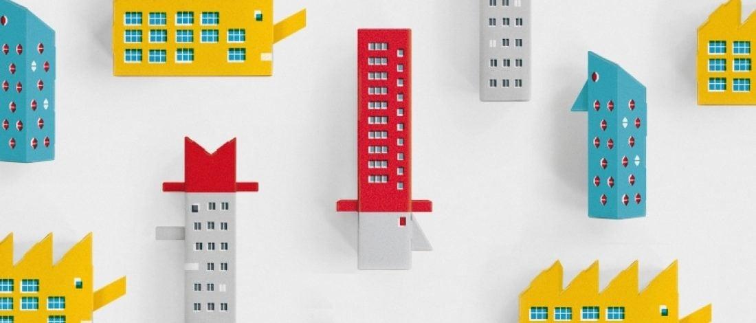 Konstrüktivist Mimari Stilinde Binalar Yapabileceğiniz Oyun Kiti