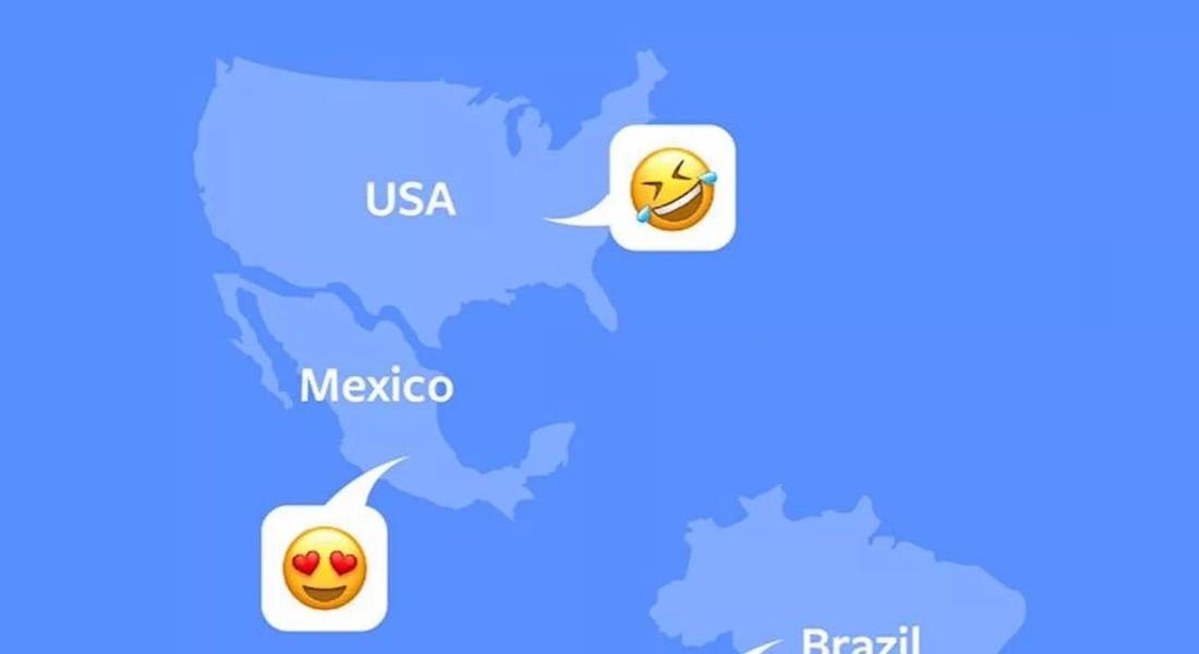 Facebook'un Emojilerle Özeti