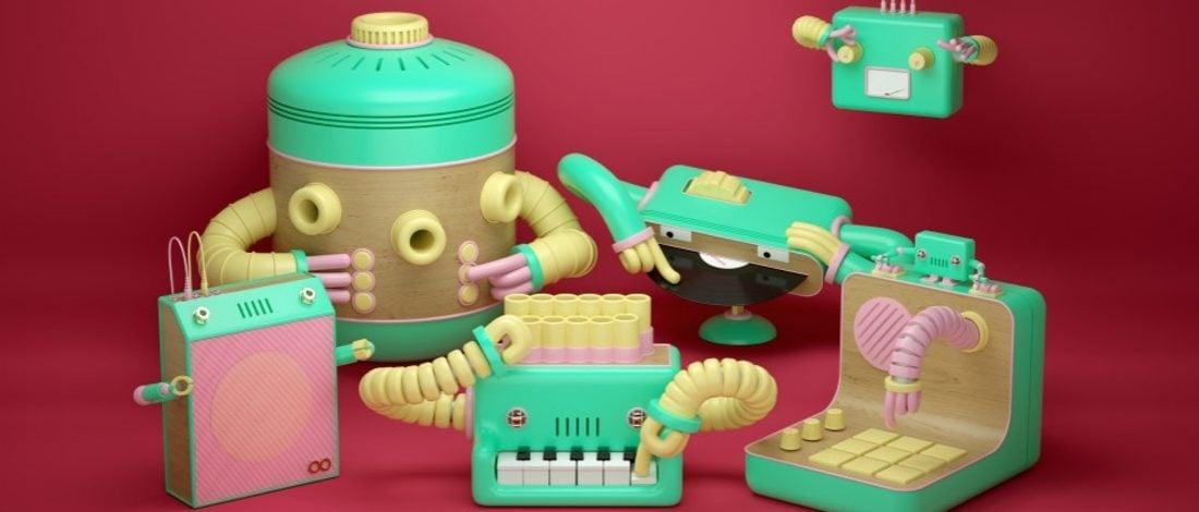 Kendi Kendilerini Çalan Enstrüman Robotlar