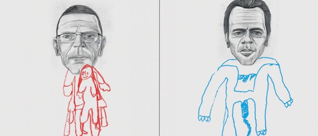 Çocuklardan İstismar Çizimleri
