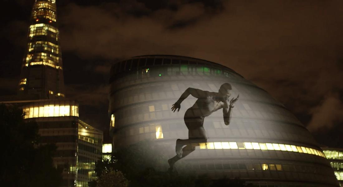 Usain Bolt'un Sanal Zafer Turu