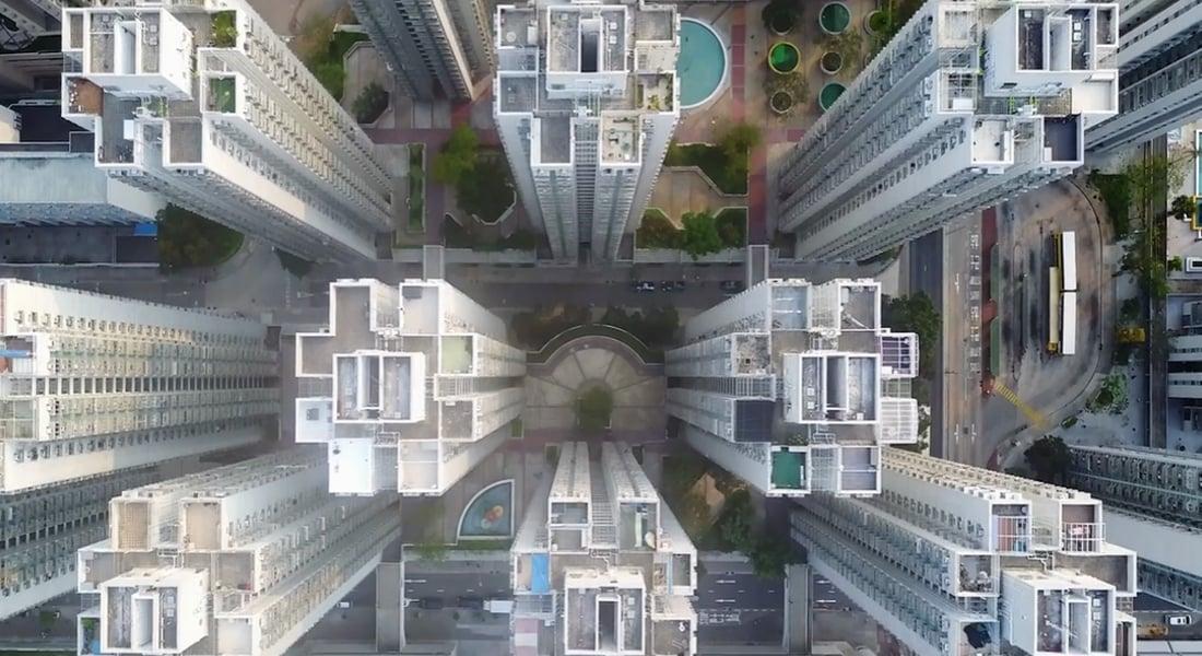 Gökyüzünden Hong Kong Distopyası