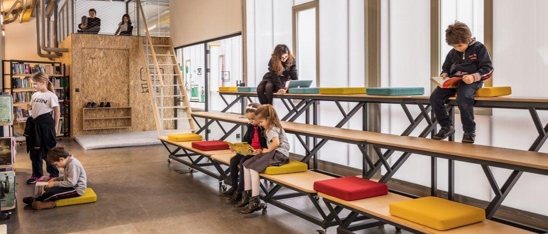 Özel Sezin Okulu'nda Öğrenciler için Deneyimsel Bir Öğrenim Alanı: Açık Çatı