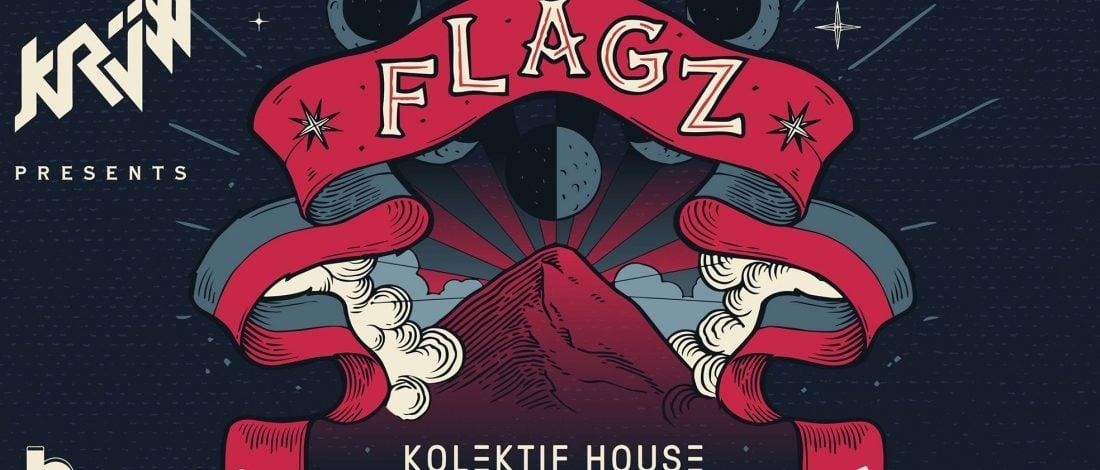Krüw Yeni Sergisiyle Sessizliğini Bozuyor: FLAGZ