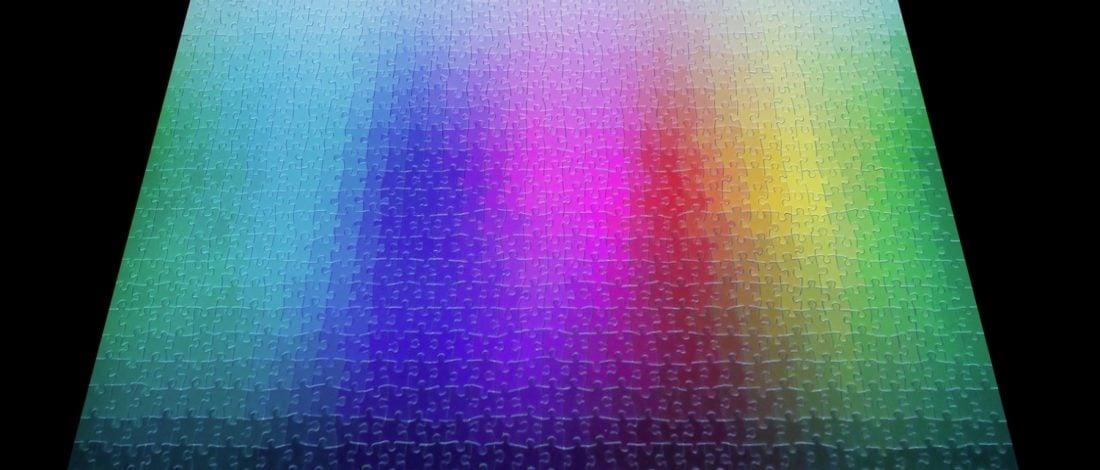 Renk Geçişleriyle Yaratılmış 5.000 Parça Yapboz