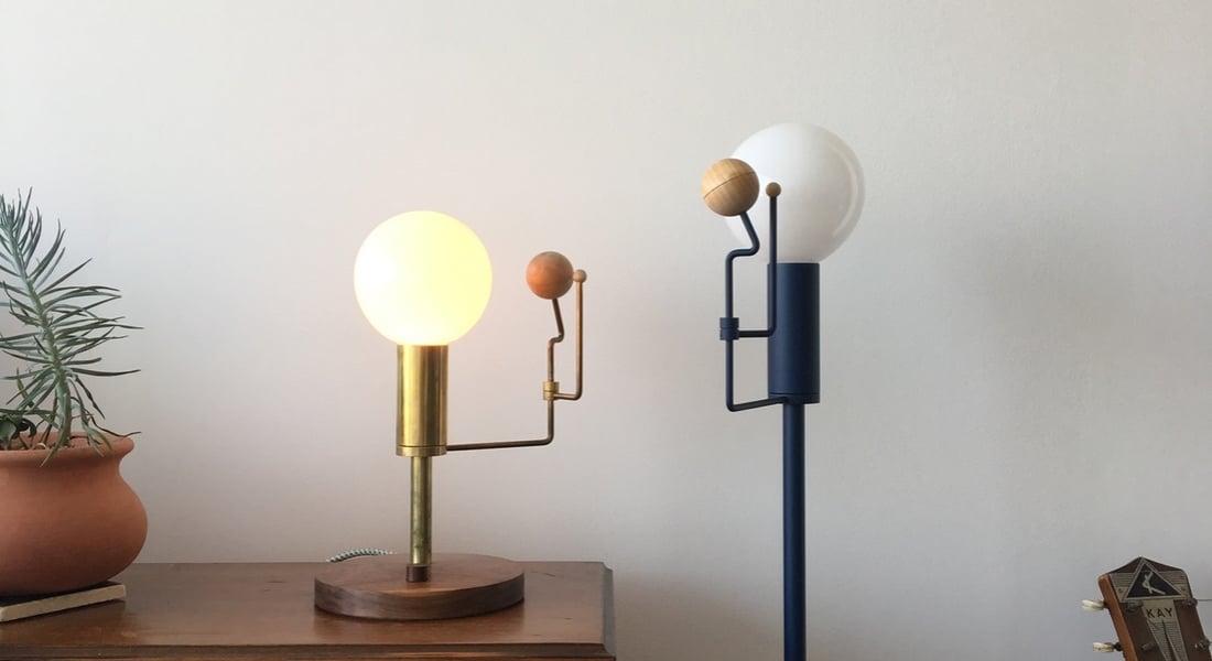 Oturma Odasında Mini Güneş Sistemi