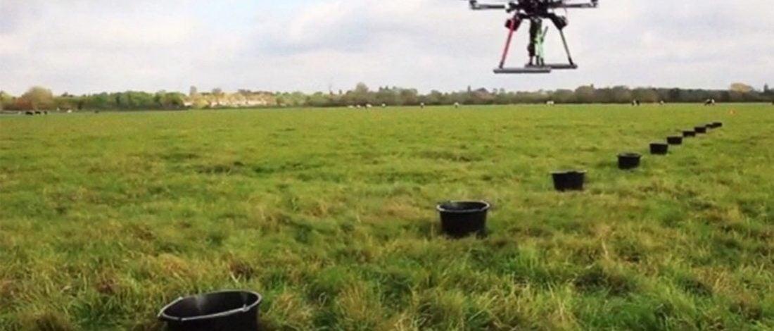 Gökten Ağaç Diken Drone'lar