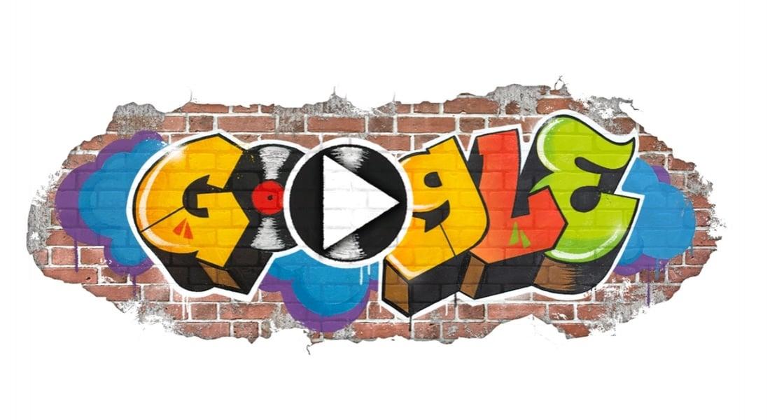 Google Hip Hop'ın Doğuşunu Doodle'ıyla Kutluyor