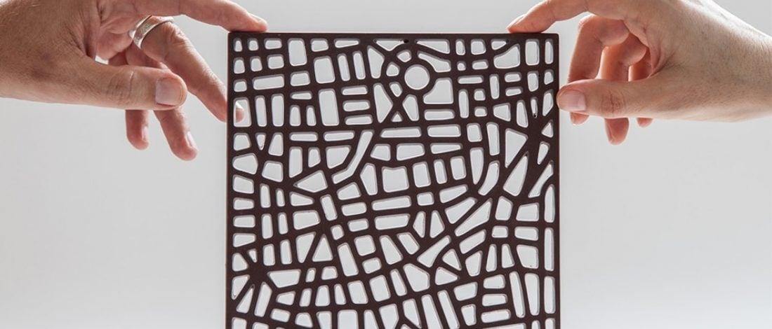 En Sevdiğiniz Şehrin Çikolatadan Haritası