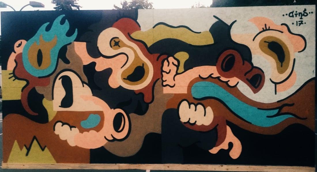 Bu Yıl İCAF'ta Canlı Yapılan Graffitiler [İCAF 2017]