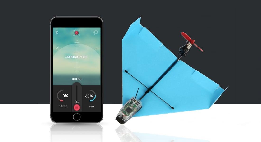 Uygulamayla Akrobasi Yaptırılabilen Kağıt Uçak