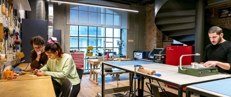 ATÖLYE, Makerlab'ini Öğrencilere Açıyor