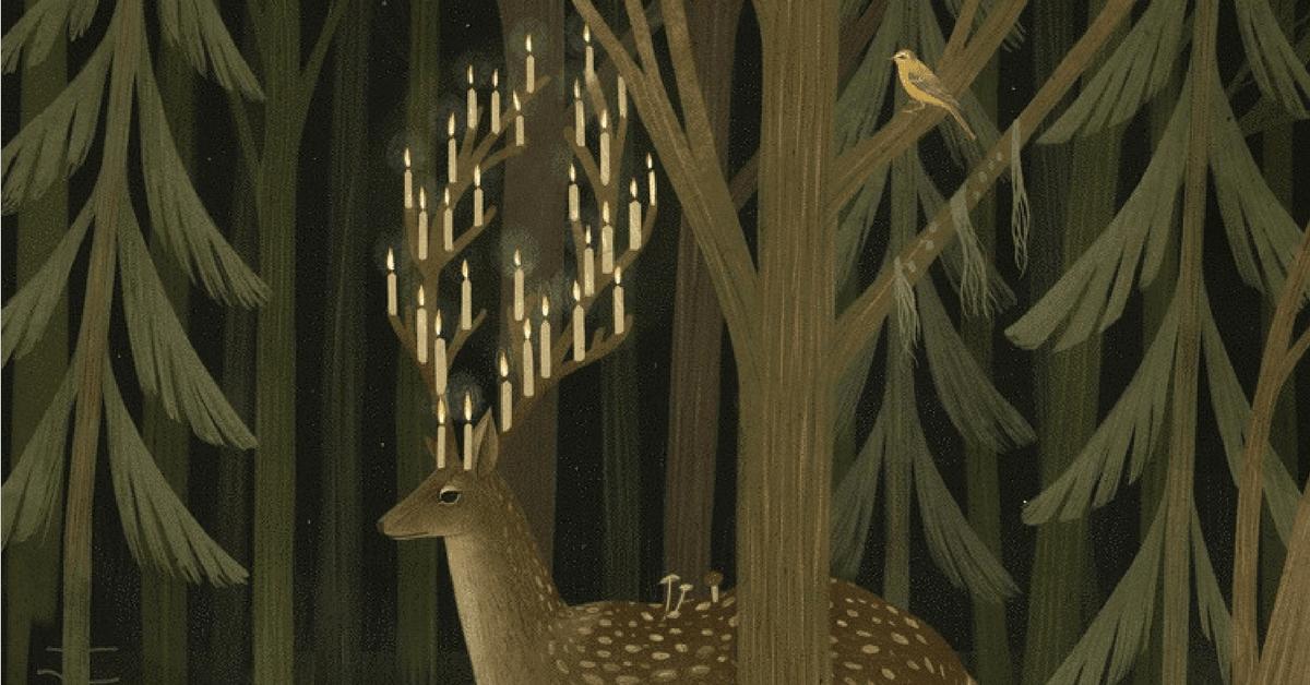 Ormanın Karanlık Köşelerinden Gizemli Sahneler