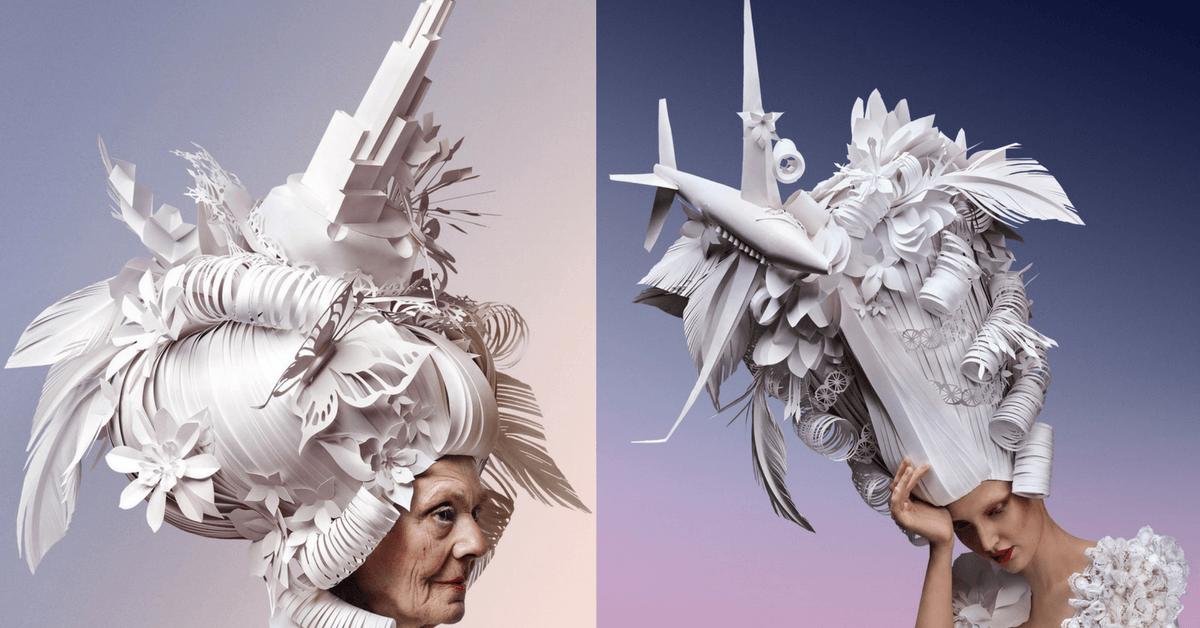 Lüks Yaşam İkonlarıyla Süslenmiş Barok Peruklar