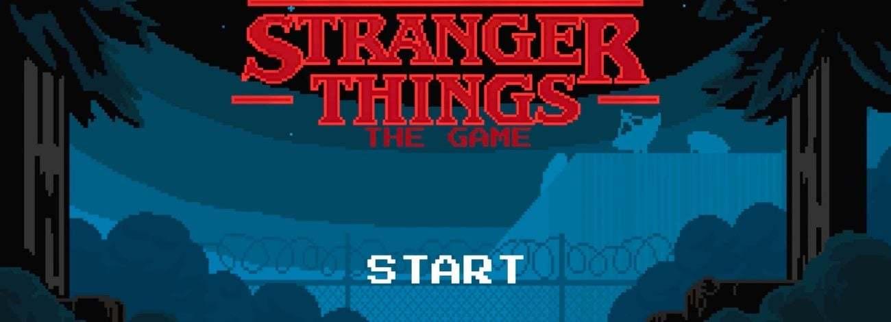 80'lerden Fırlayıp Gelen Stranger Things: The Game