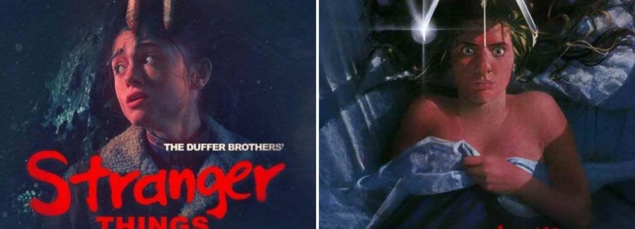 80'lerin Kült Filmlerine Selam Çakan Stranger Things Posterleri