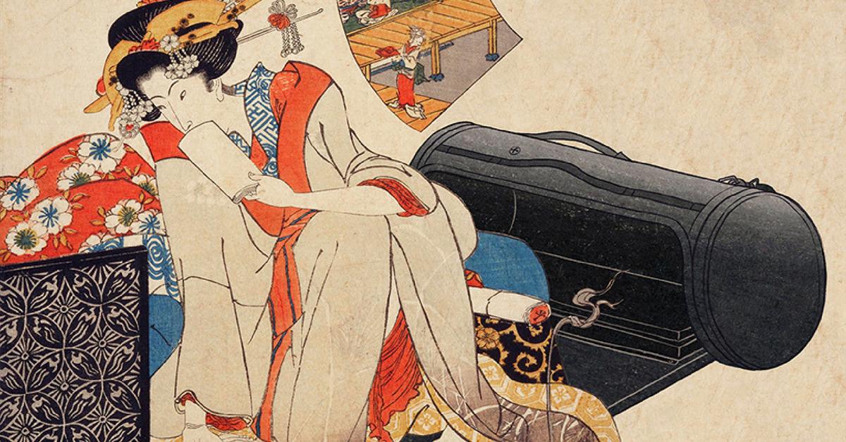 Ukiyo-e ile Tanıtılan Geleneksel Japon İlhamlı Tasarımlar