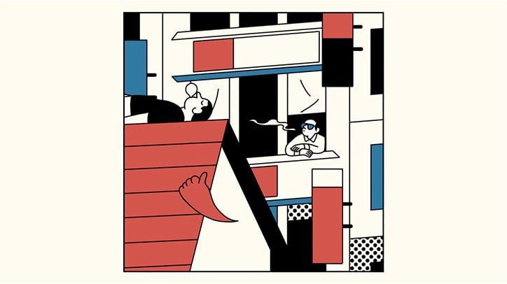Simon Landrein Dan Croll Tokyo music video animasyon Bigumigu 11
