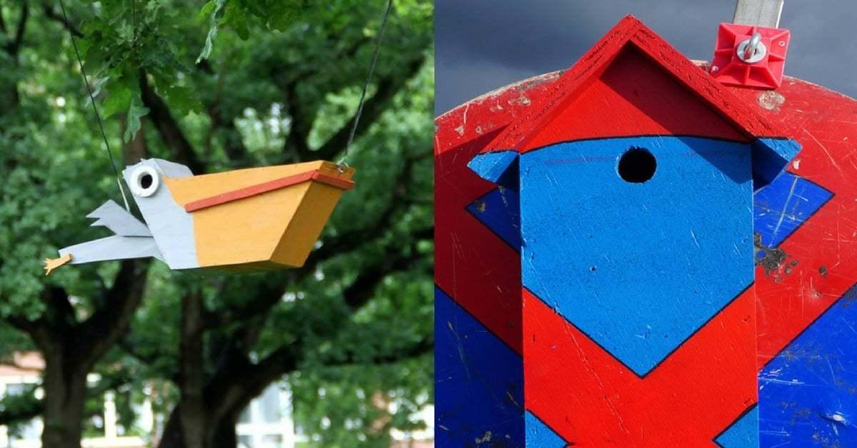 11 Yılda Binlerce Kuş Evi İnşa Eden Sokak Sanatı Projesi