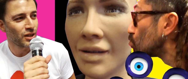 Robot Sophia'ya Nazar Boncuğu Taktık! [Web Summit 2017]