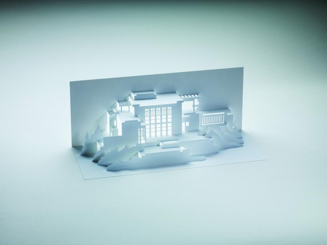 Frank Lloyd Wright'ın Mimari Yapılarını Kirigami ile İnşa Edin