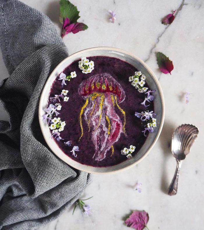 Smoothie'ler Tuval, Bitki ve Meyve Tozları Palet Olursa