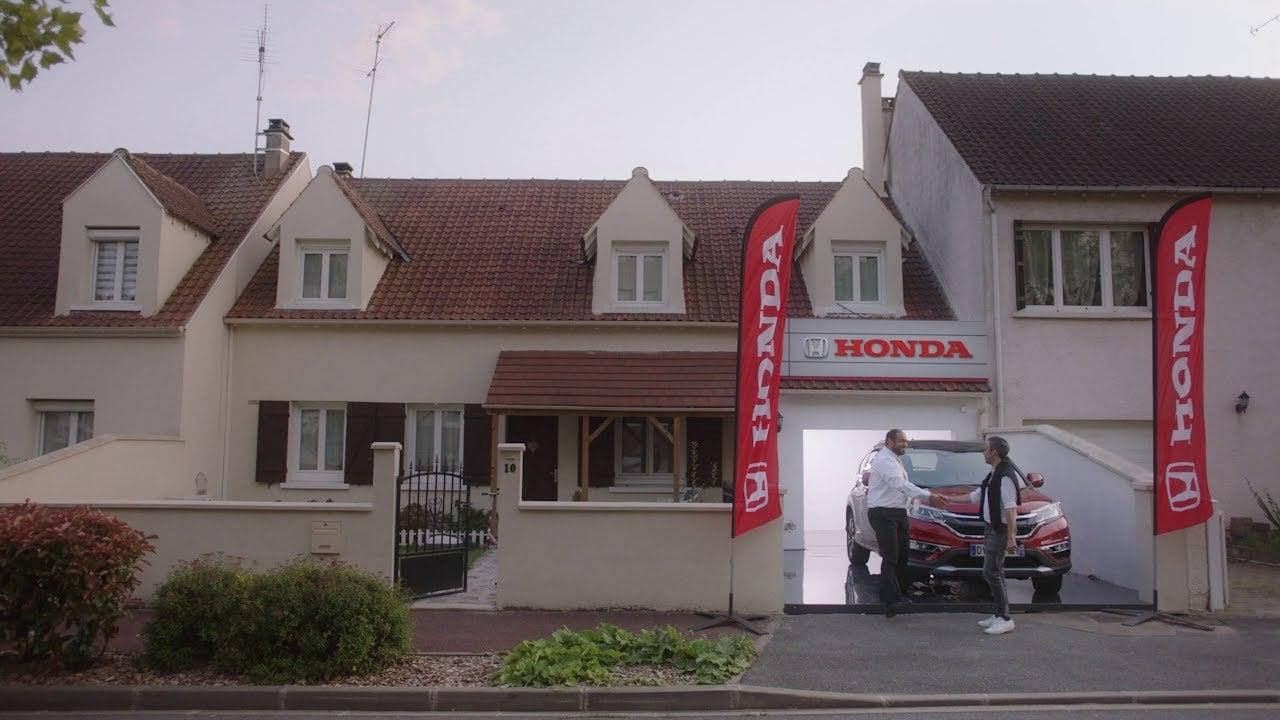 Honda Müşteri Garajlarını Bayilere Dönüştürdü