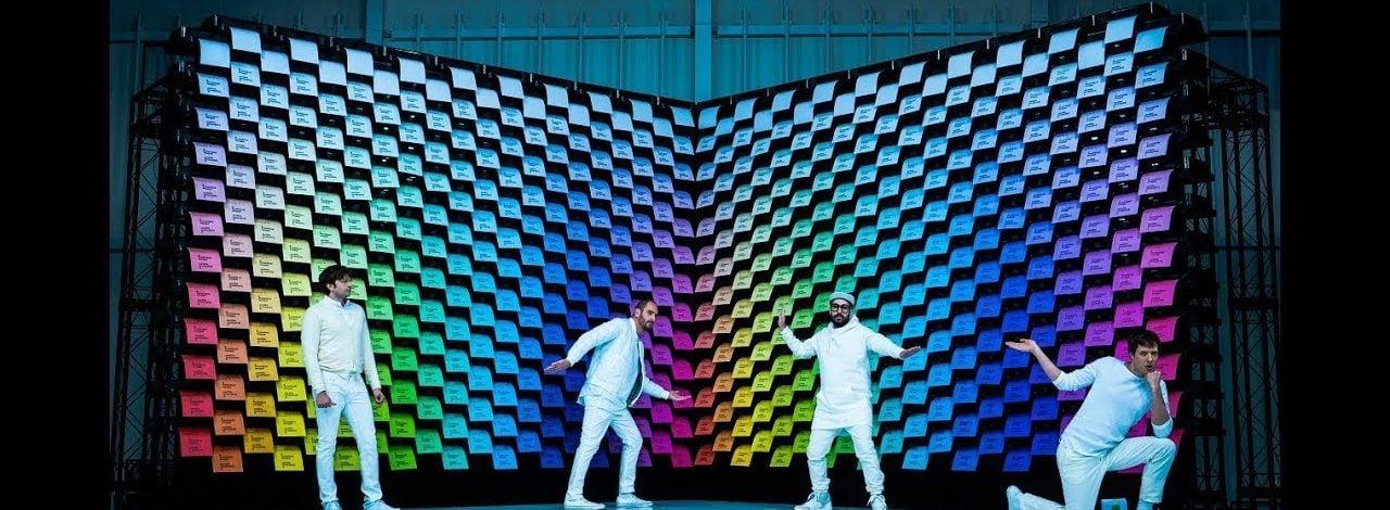 OK Go'dan 567 Yazıcıyla Rengarenk Koreografi