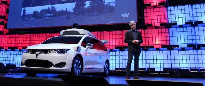 Waymo Kelimenin Tam Anlamıyla Sürücüsüz Araç Geliştirdi [Web Summit 2017]