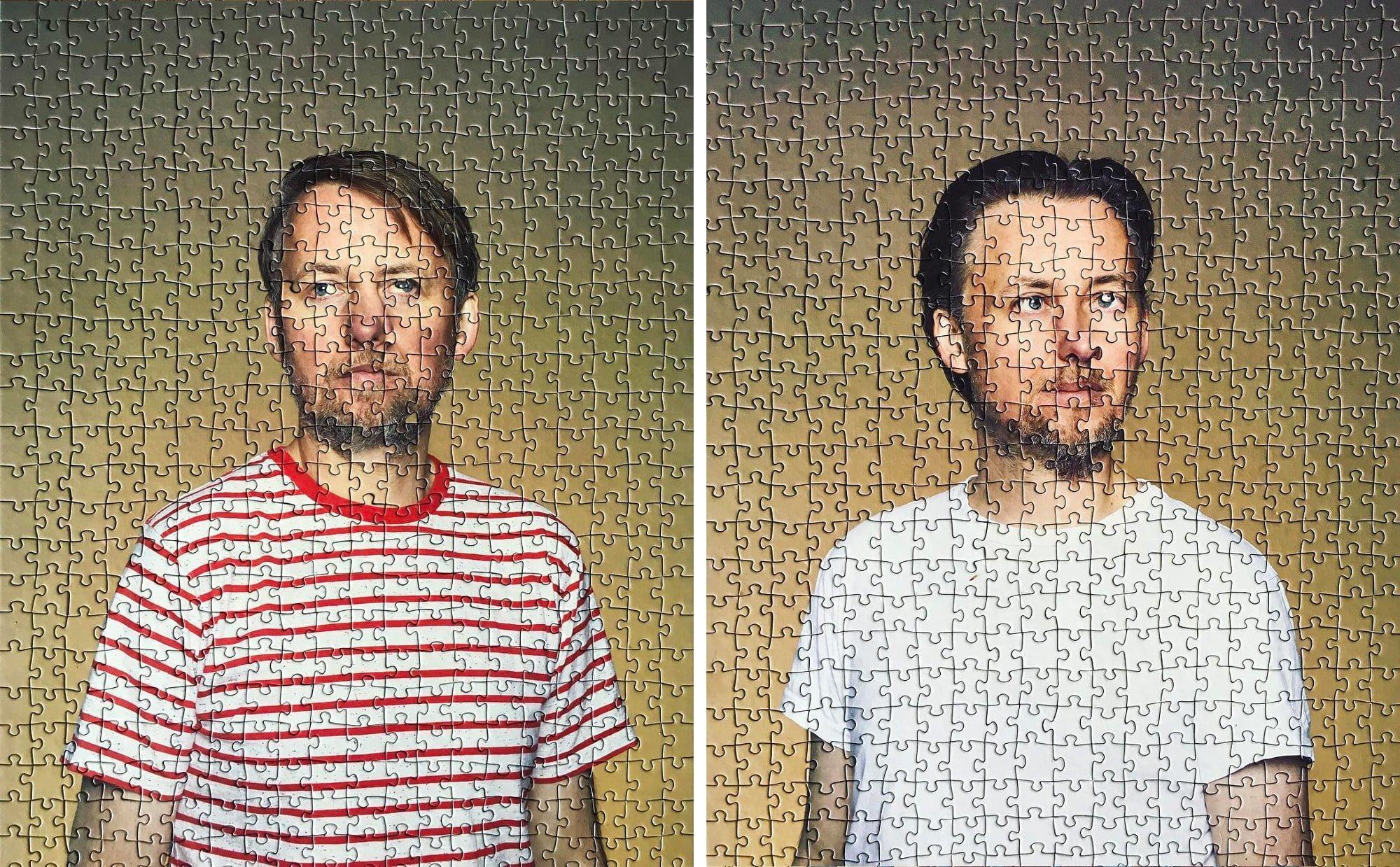 Tek Yumurta İkizlerinin Portreleri Yapbozlarda Birleşti
