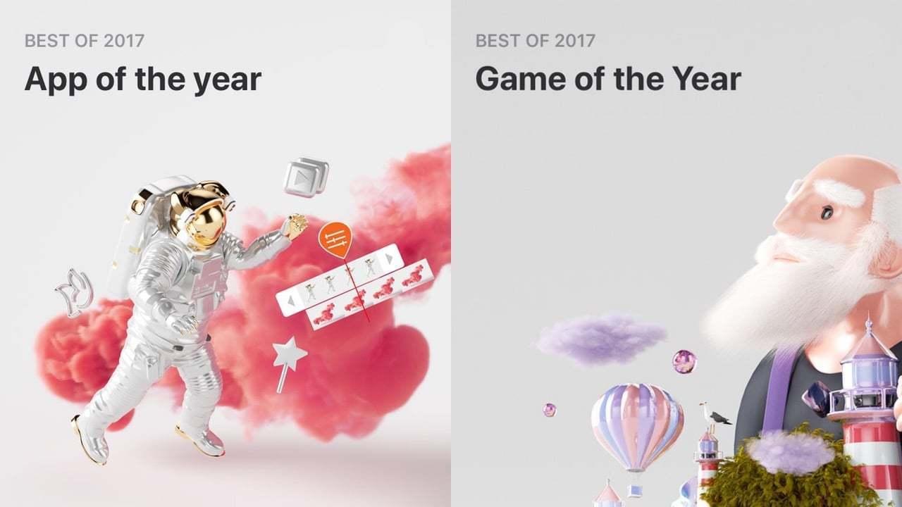 App Store'da 2017'nin En İyi Oyunları ve Uygulamaları