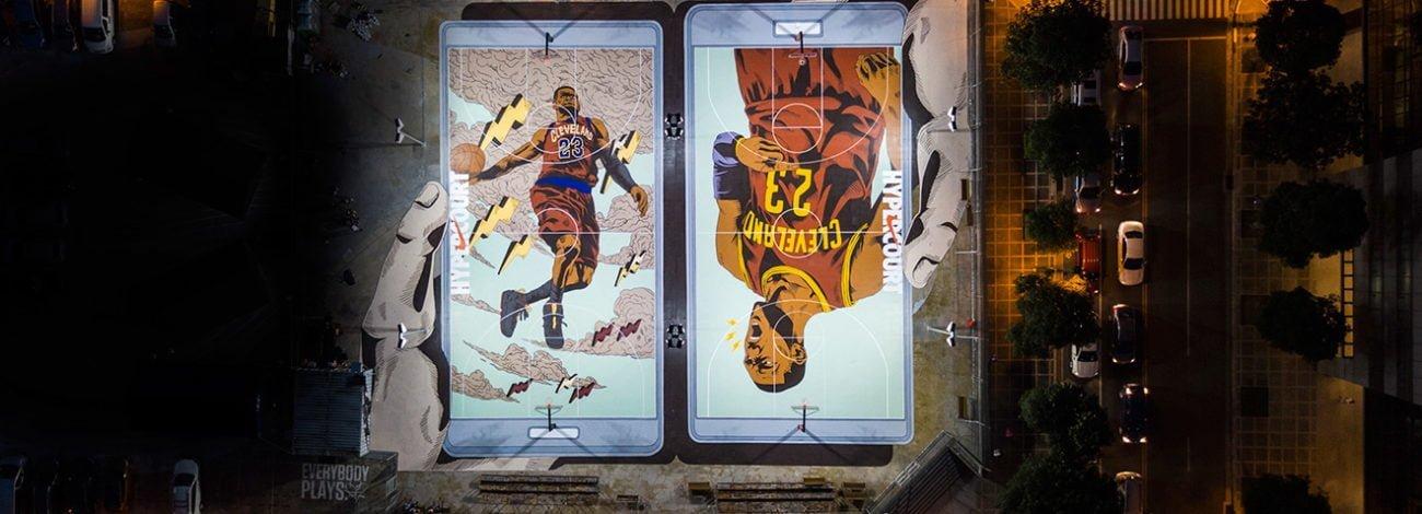 Nike'den Dünyanın En Havalı Basketbol Sahası