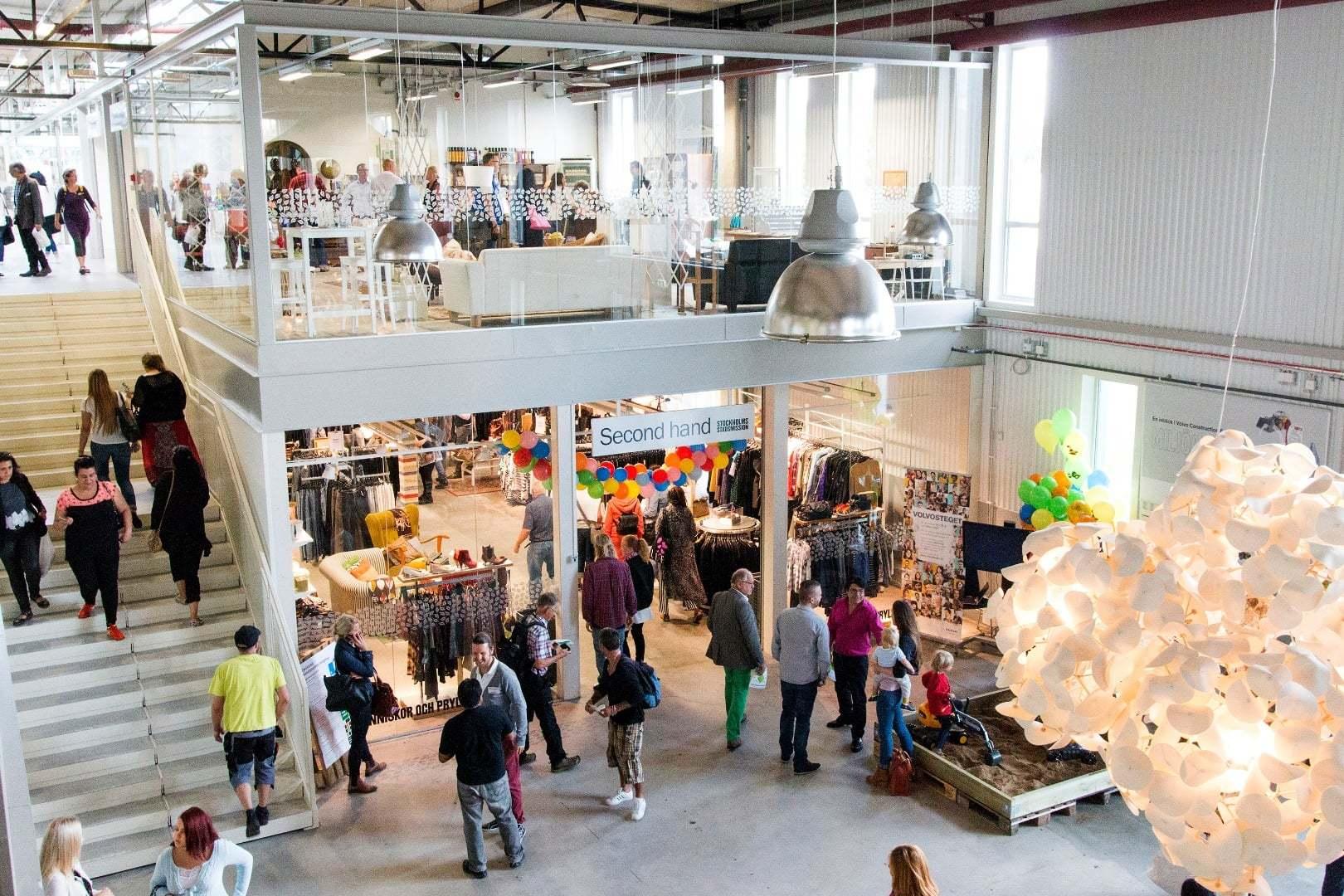 İsveç'te Geri Dönüşümün Alışveriş Merkezi