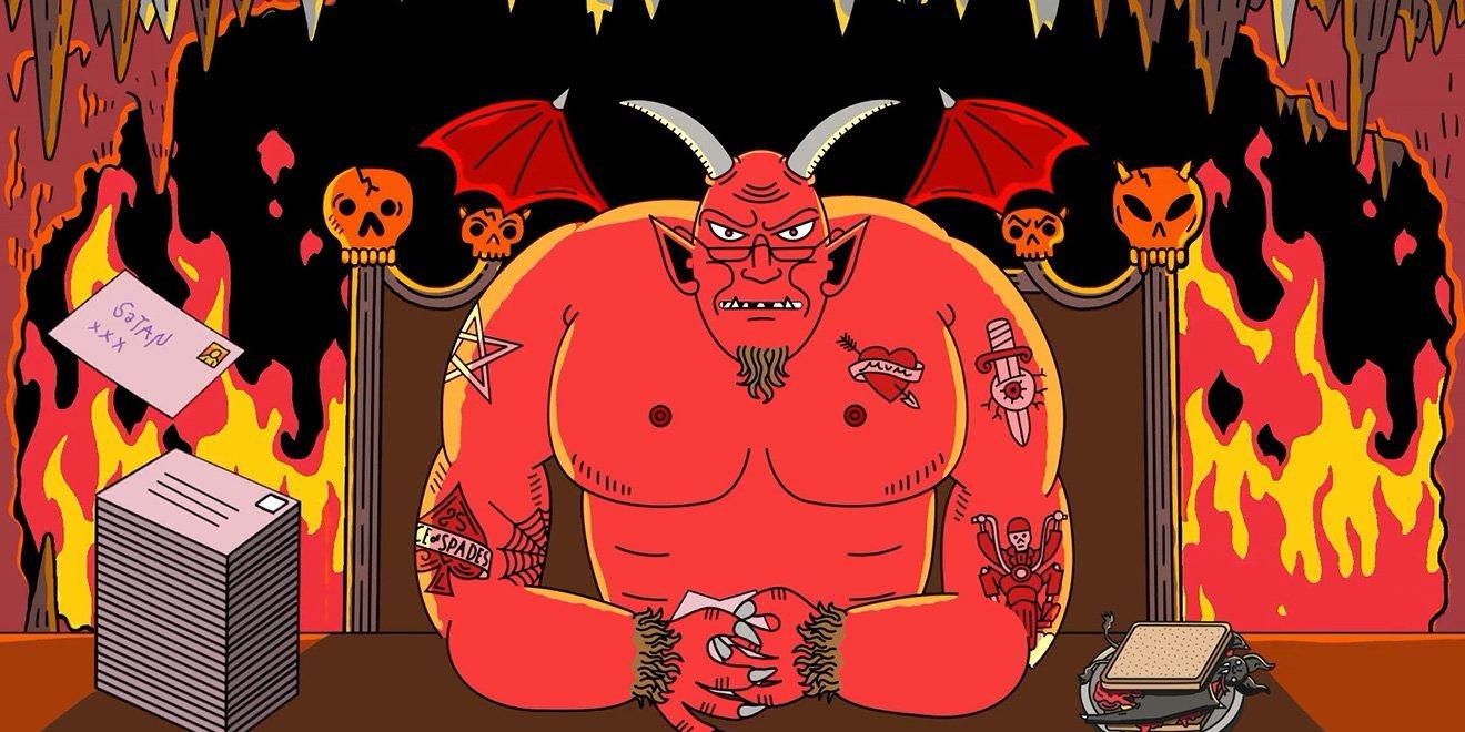 Yazım Hatası Kurbanı Bir Mektup: Dear Satan