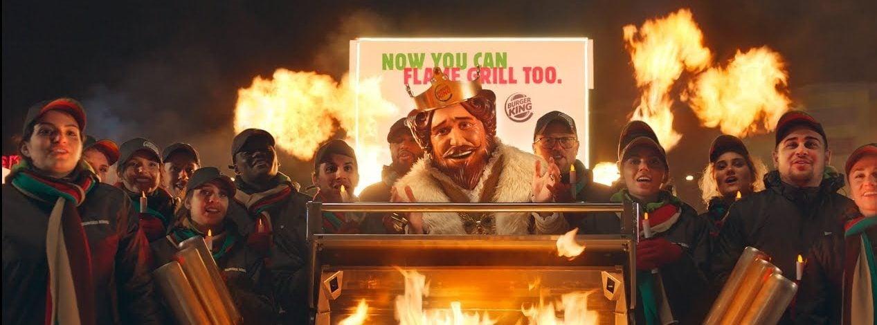 Burger King'den Rakibine Manidar Yılbaşı Hediyesi