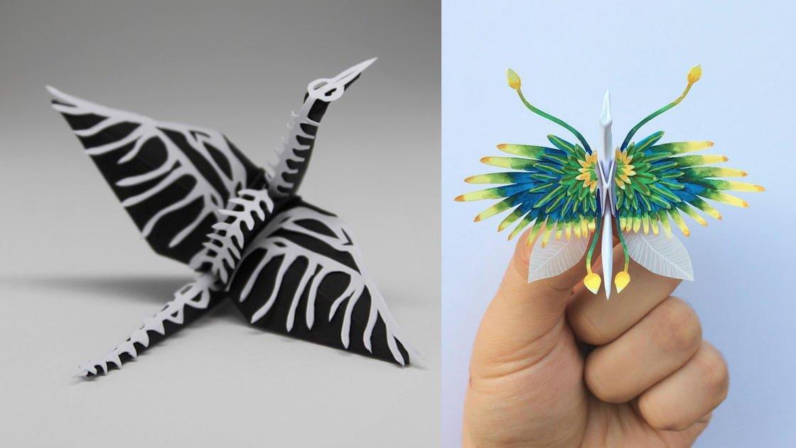 1000 Eşsiz Origami Turna