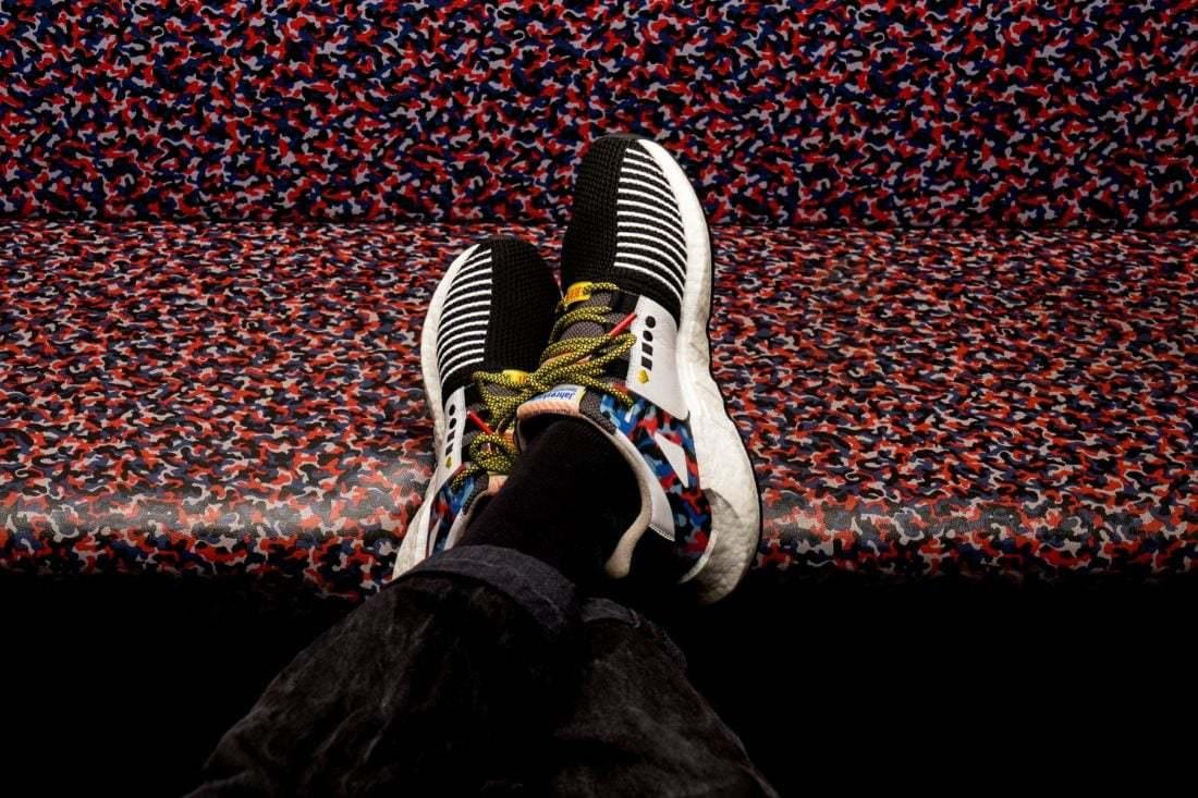 Adidas Ayakkabılarla Berlin Metrosunda Serbest Geçiş
