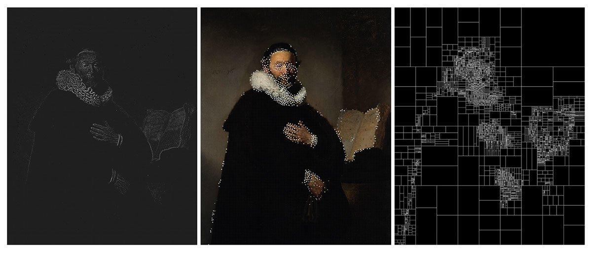 Ünlü Tablolar Algoritmayla Renk Paletlerine Bölünüyor