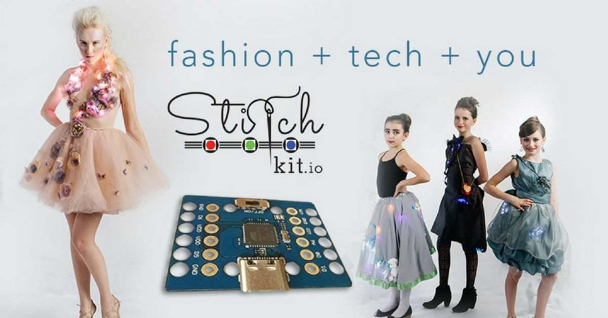 Moda Tasarımı ve Teknoloji StitchKit'te Buluştu