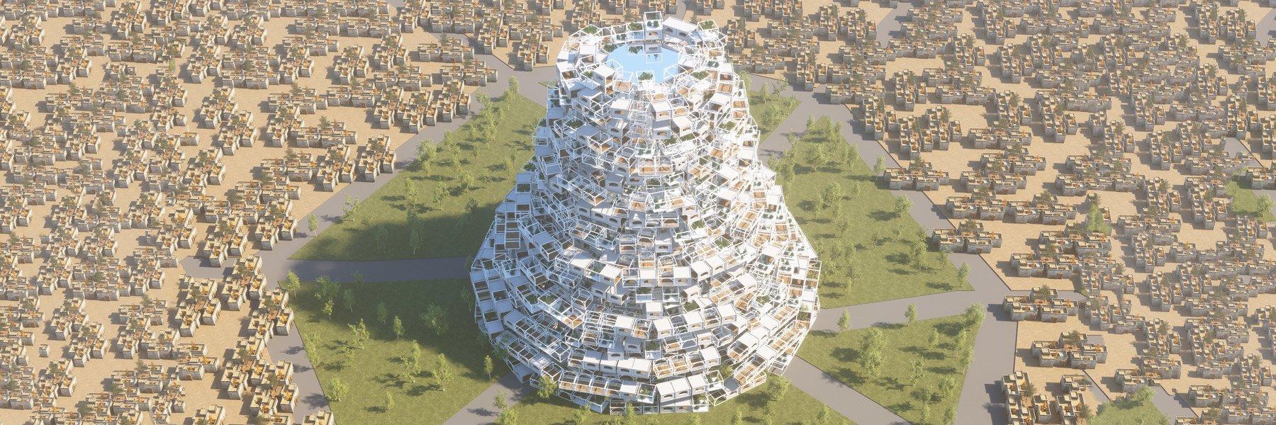 Türk Öğrencilerden Savaş Sonrası Musul'a Yeni Babil Kulesi Tasarımı